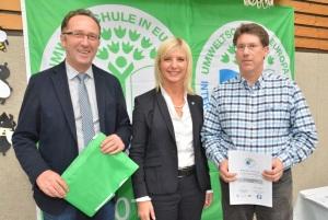 Ernennung zur Umweltschule