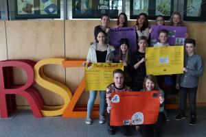 Klasse 8g Plakate zum Ungarnprojekt